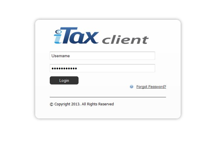 iTax Client for Major Banks