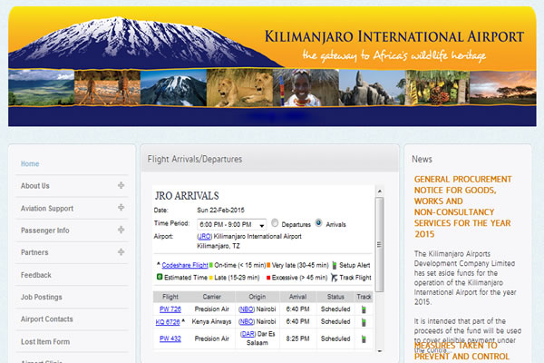Kilimanjaro Airports Development Company Ltd