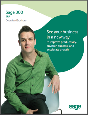 Download Sage 300 ERP Brochure