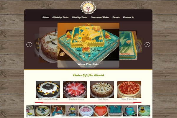 Cakes52 Website Development