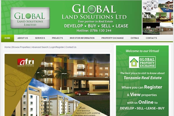 Global Land Solutions Web Portal